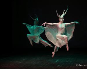 """La danza dei cervi, da """"Re Cervo"""" di Inglese-Bosisio (foto Dessi)"""